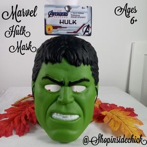 🍓$5 Marvel Avengers Hulk Mask NEW Kids Ages 6 & U